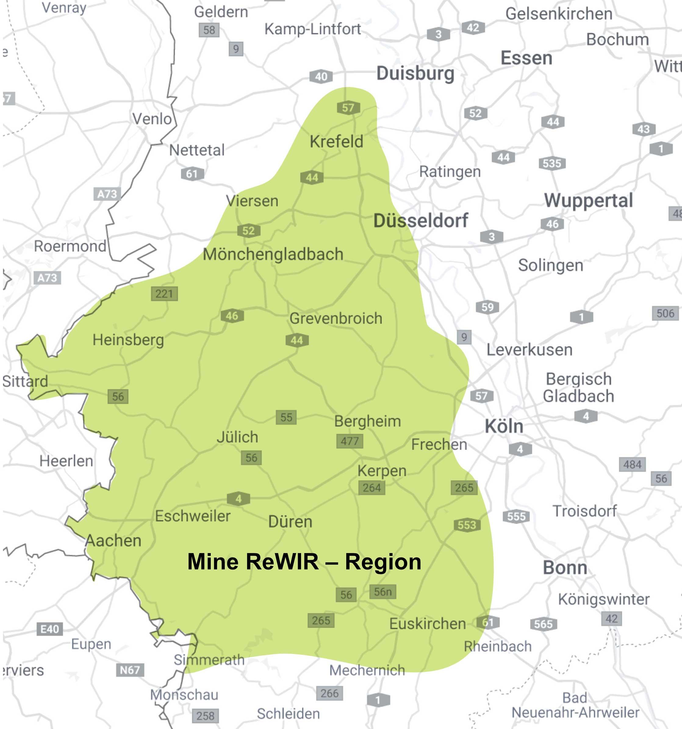 Karte MineReWIR